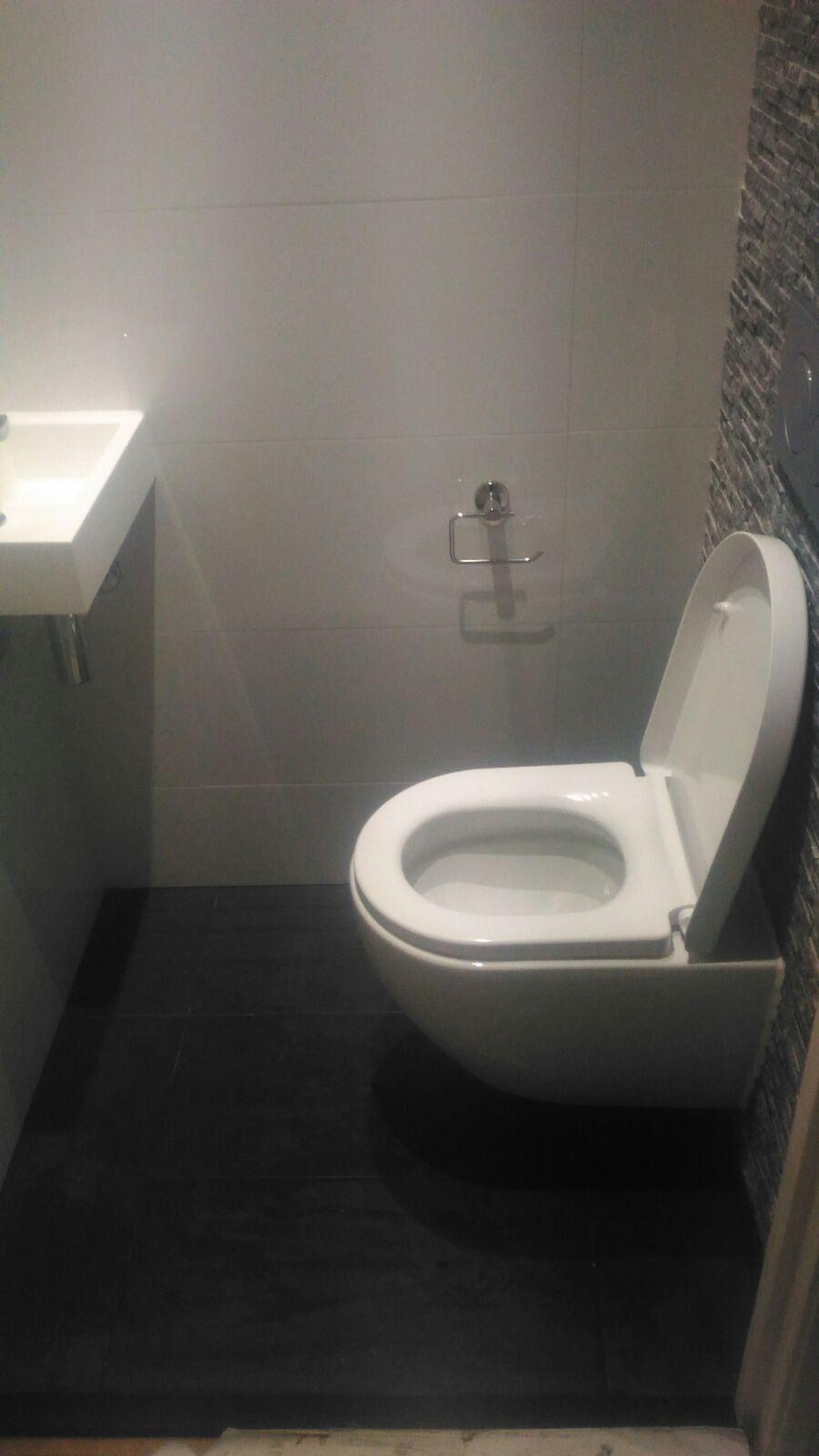 Verbazingwekkend Toilet renovatie muur versiering | Bouwvariatie PO-81